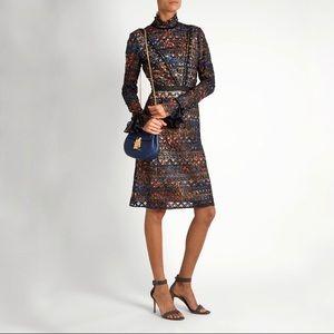 NWT SALONI Rio High Neck Lace Dress